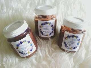 Creambath in jar