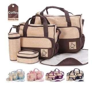 Baby bag 5in1