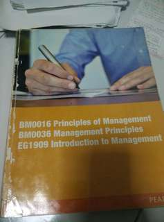 Principle of management pearson