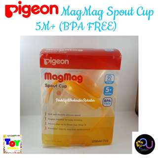 Pigeon MagMag Spout Cup 5M+ (BPA FREE)