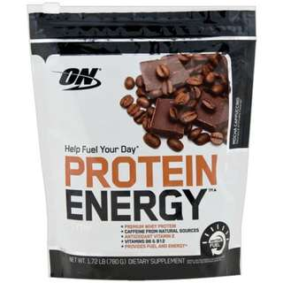 🚚 Sports Nutrition Optimum Nutrition PROTEIN ENERGY Mocha Cappuccino(1.72lbs)美國熱銷奧普特蒙低脂乳清蛋白