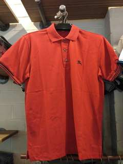 Bnwt men's burberry polo tee S to XL