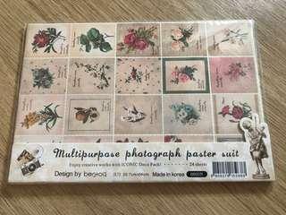 韓國貼紙set