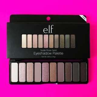 ✨READYSTOCK✨ E.L.F Cosmetics Nude Rose Gold Palette