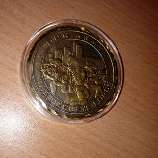 SAF Best Unit Medal Coin