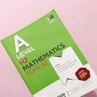 H2 Math Topical