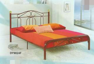 Katil besi queen size - DY9024F