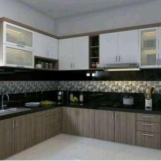 Kitchen Set Cicilan Murah Tanpa Dp