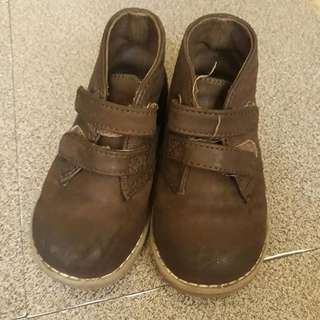 Children's Place leather shoes