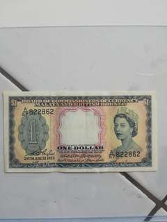 Malaya and British Borneo currency (rare)