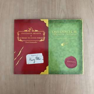 Fantastic Beast & Where To Find Them and Quidditch Through The Ages