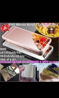 Vivo Mirror Arylic Soft Slim Case