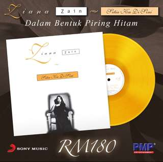 Ziana Zain - Setia Ku Disini (Orange Color) LP Vinyl Record Limited Edition
