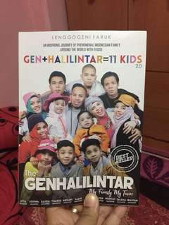 Gen Halilintar book