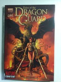 Marvel Premiere, Tales of the Dragon Guard, NM, HC