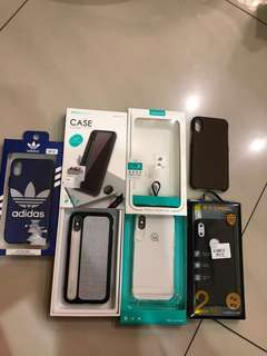 Iphone X casing(adidas new) other case just use few times