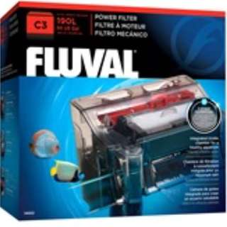 Fluval C3 Power Filter provides extensive 5-stage filtration