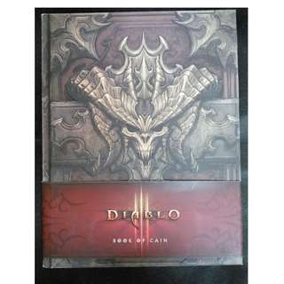 Diablo : Book of Cain (Hardcovered)
