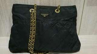 authentic vintage prada bag size XL