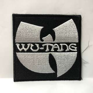 Wu-Tang Clan - White Logo Woven Patch