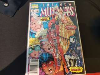 Marvel new mutants issue 98