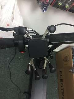 Handphone holder for escooter