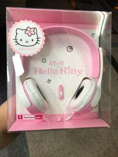 hello kitty 頭戴式耳機🎧