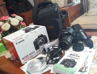Canon EOS 650D Kit EF-S 18-55mm IS-II