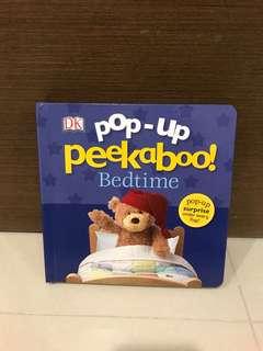 Free Postage - BN DK Pop-Up Peekaboo Bedtime (Hardcover)