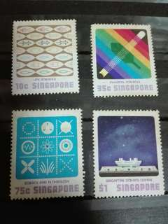 Singapore Stamps Science Centre 1977