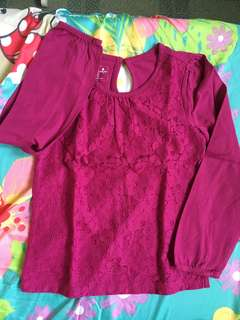 Gap Laced Blouse for Kids