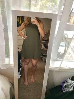 Khaki dress size 8