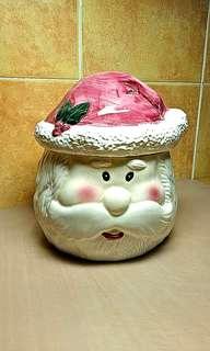 Santa Claus Cookie Jar.