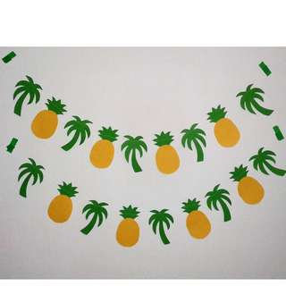 Tropical garlands (#2) - set of 2