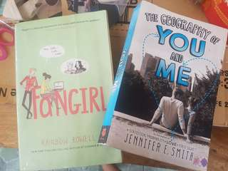 fangirl and the geography of you and me