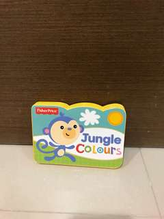 Free Postage - BN Fisher Price Jungle Colours (Hardcover)