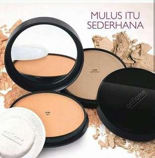 bedak pure colour pressed powder