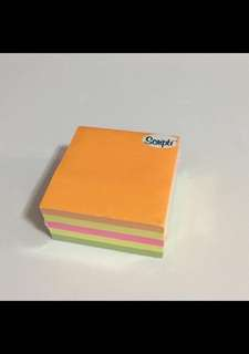 Post It Note Notes Cube