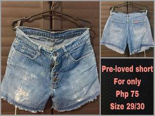 Rush sale shorts for only 50 pesos