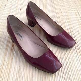 L. K Bennet London Pump Shoes - size 37 - Maroon