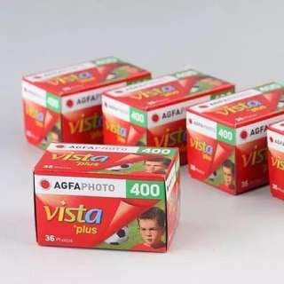 Agfa vista 400 color film 35mm