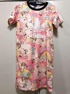 BNWT Unicorn X Adidas jersey/shirtdress