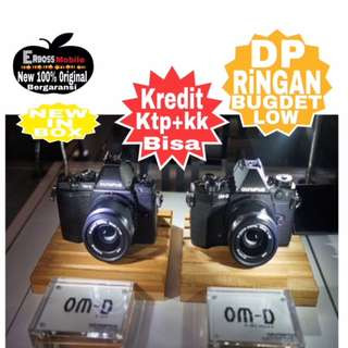 Olympus OMD E-M5 Mark II-12-50MM Resmi-kredit Dp 3jt ditoko Call/wa;081905288895