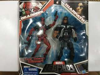 Deadpool and WarPath Marvel Legends by Hasbro 2-Pack