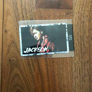GOT7 Swagger Jackson Photocard