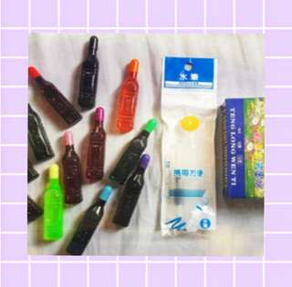 ♡ Waterbrush Pen with 12 Assorted inks ♡