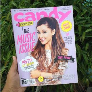 CANDY MAG JULY 2014: ARIANA GRANDE