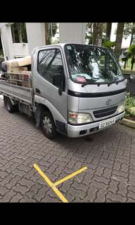 Cheap Personal Lorry Rental With Driver