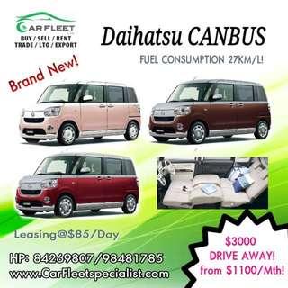 Daihatsu MOVE CANBUS (APV)