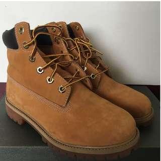 Timberland/添柏嵐 女鞋 經典黃靴 六孔基本款(US5)